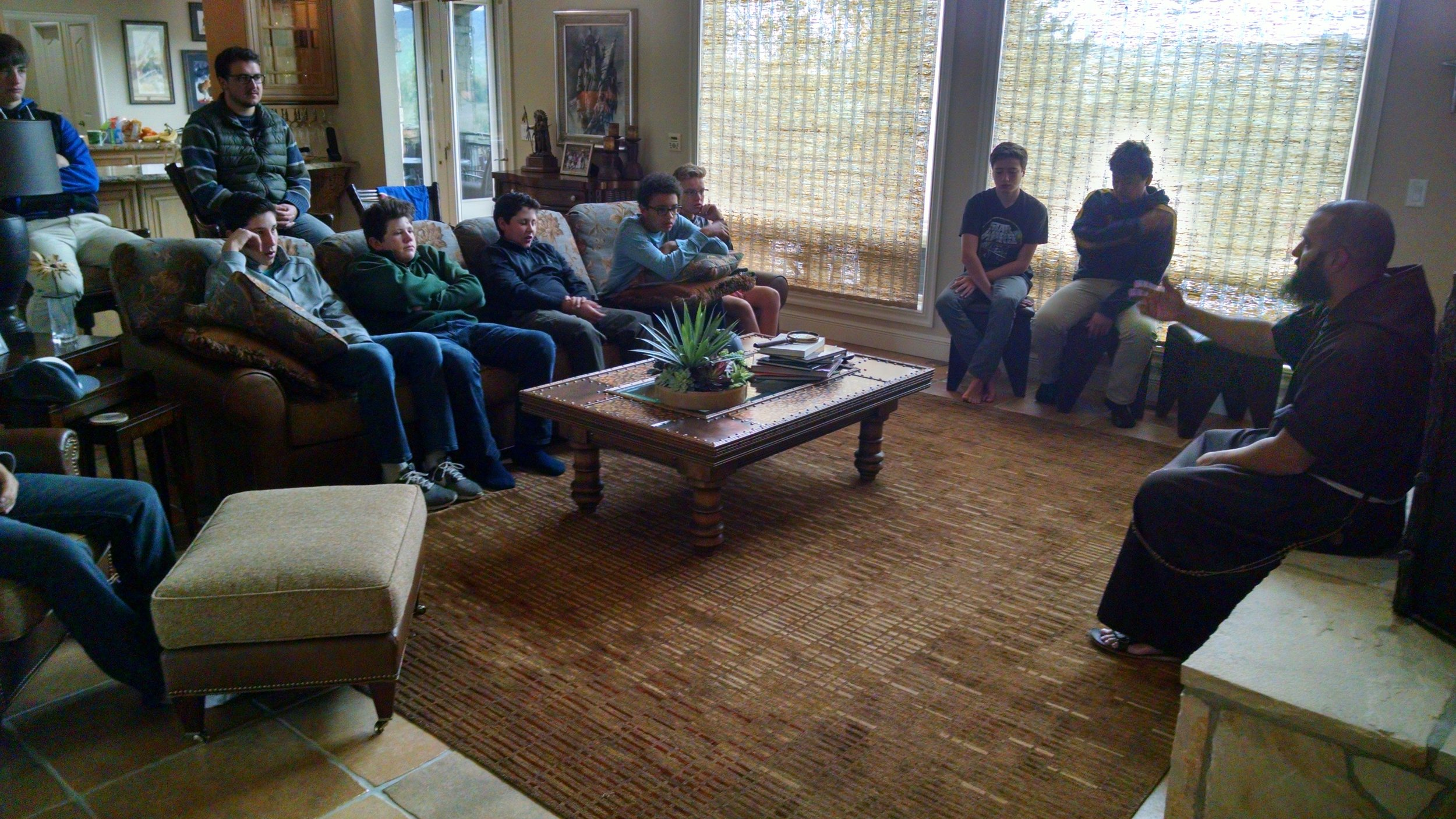 Study - Learning from our chaplain, Fr. Chris Gama, O.F.M. Cap.