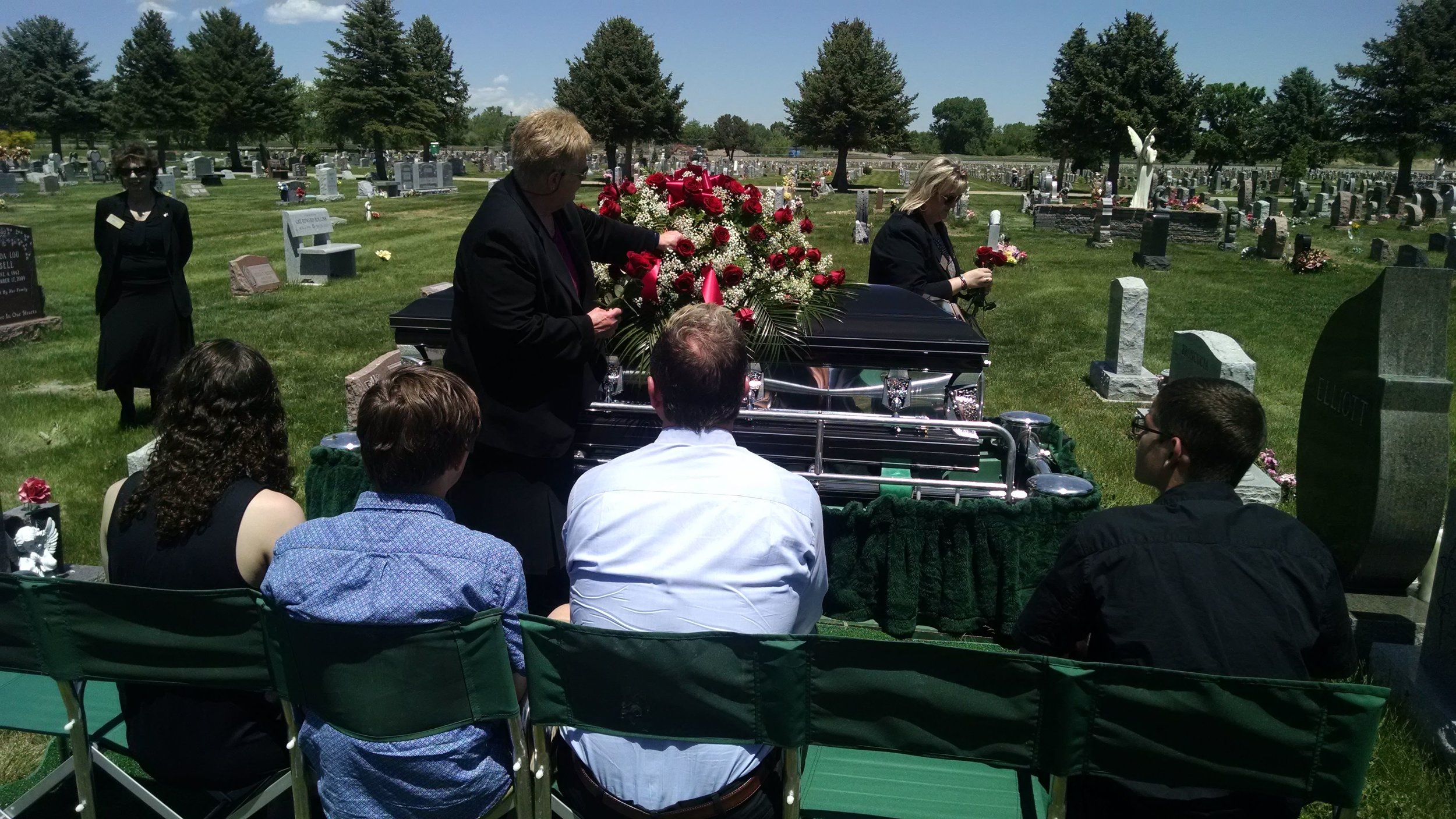 Burying the Dead - In imitation of our patron, we will attend the funeral/burial of any poor soul who has no one else to attend.