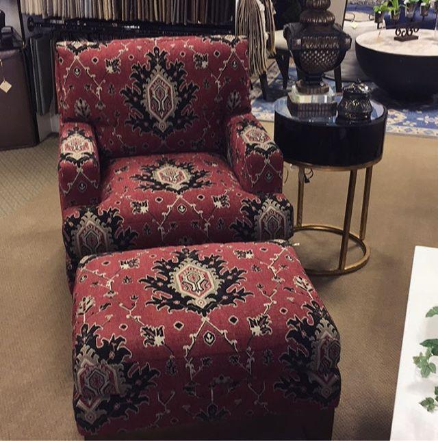 Century Chair and Ottman