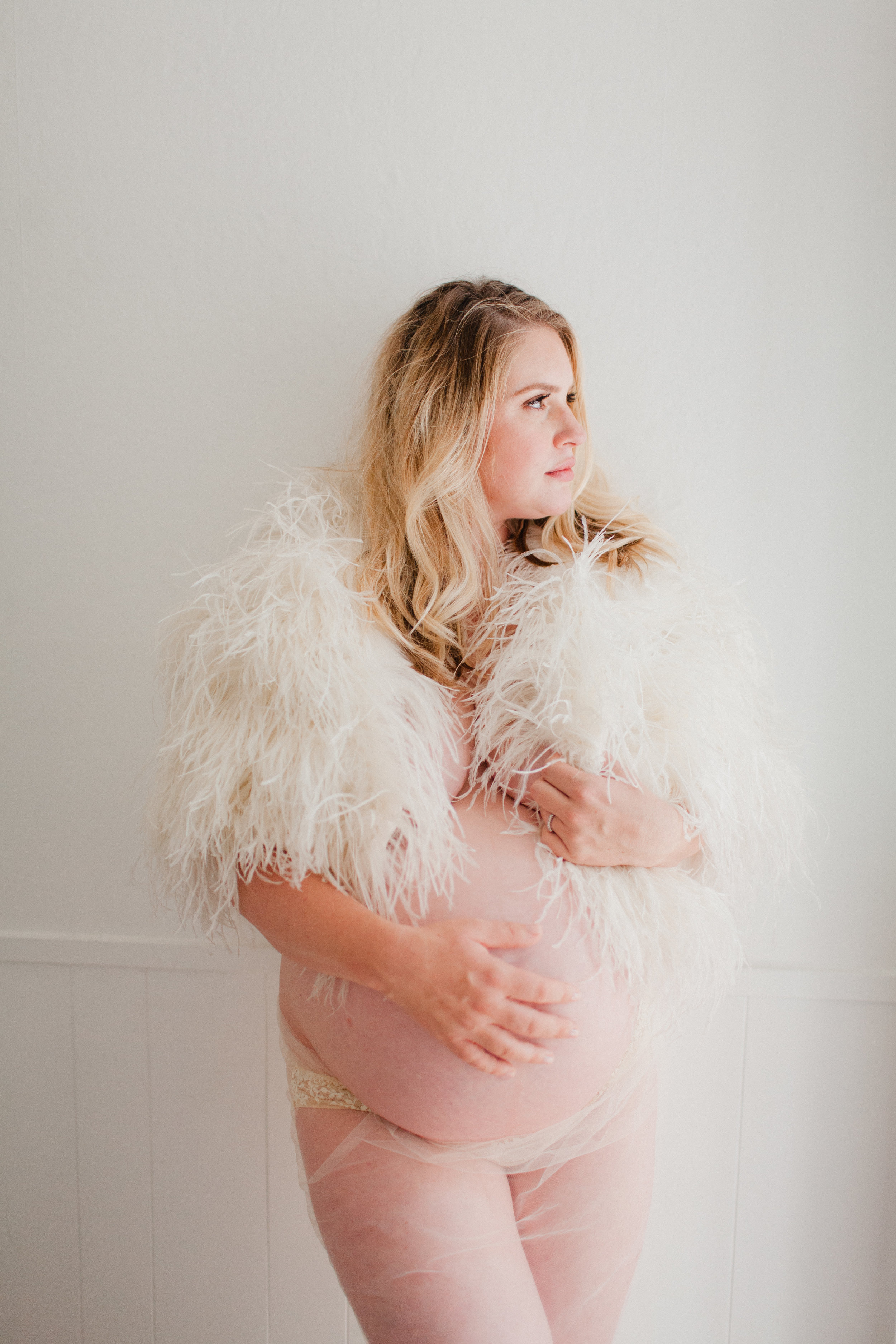 maternity boudoir