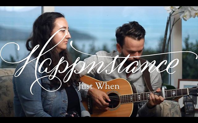 We decided it was high time we recorded some new tunes - so Maria and I sat down to record a duet version of our new song Just When. Check the full link in our bio (Media page) AND come listen to the full version LIVE on Thursday 8/15! Info in our bio! . . #livemusic #takeawayshow #acoustic #indiefolk #performance #harmony