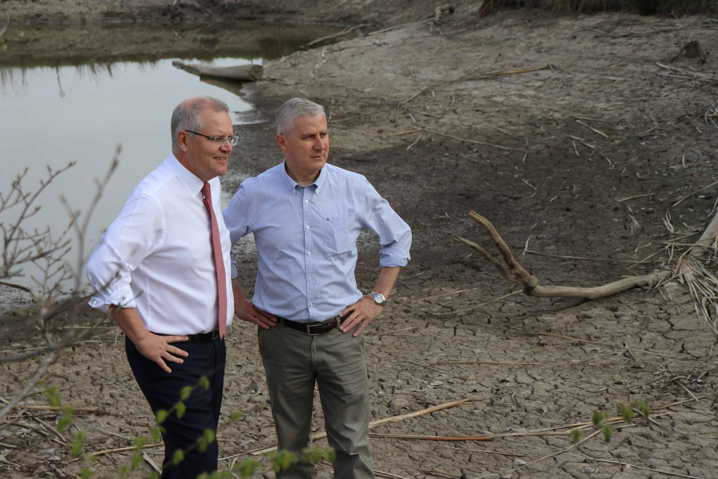 PM and DPM announce more drought funding.JPG