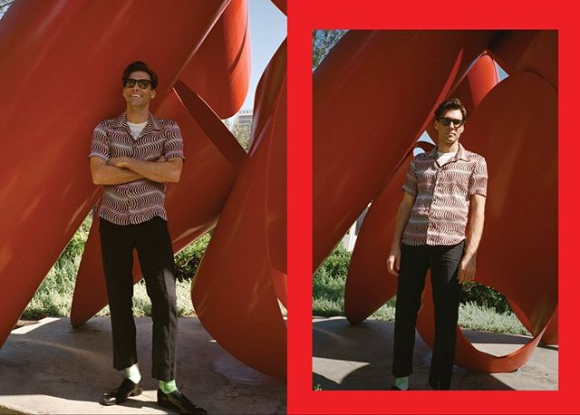 Me at lacma from @shopsuperstreet interview - Photo @jenwolf_  Words @lucyblairakin