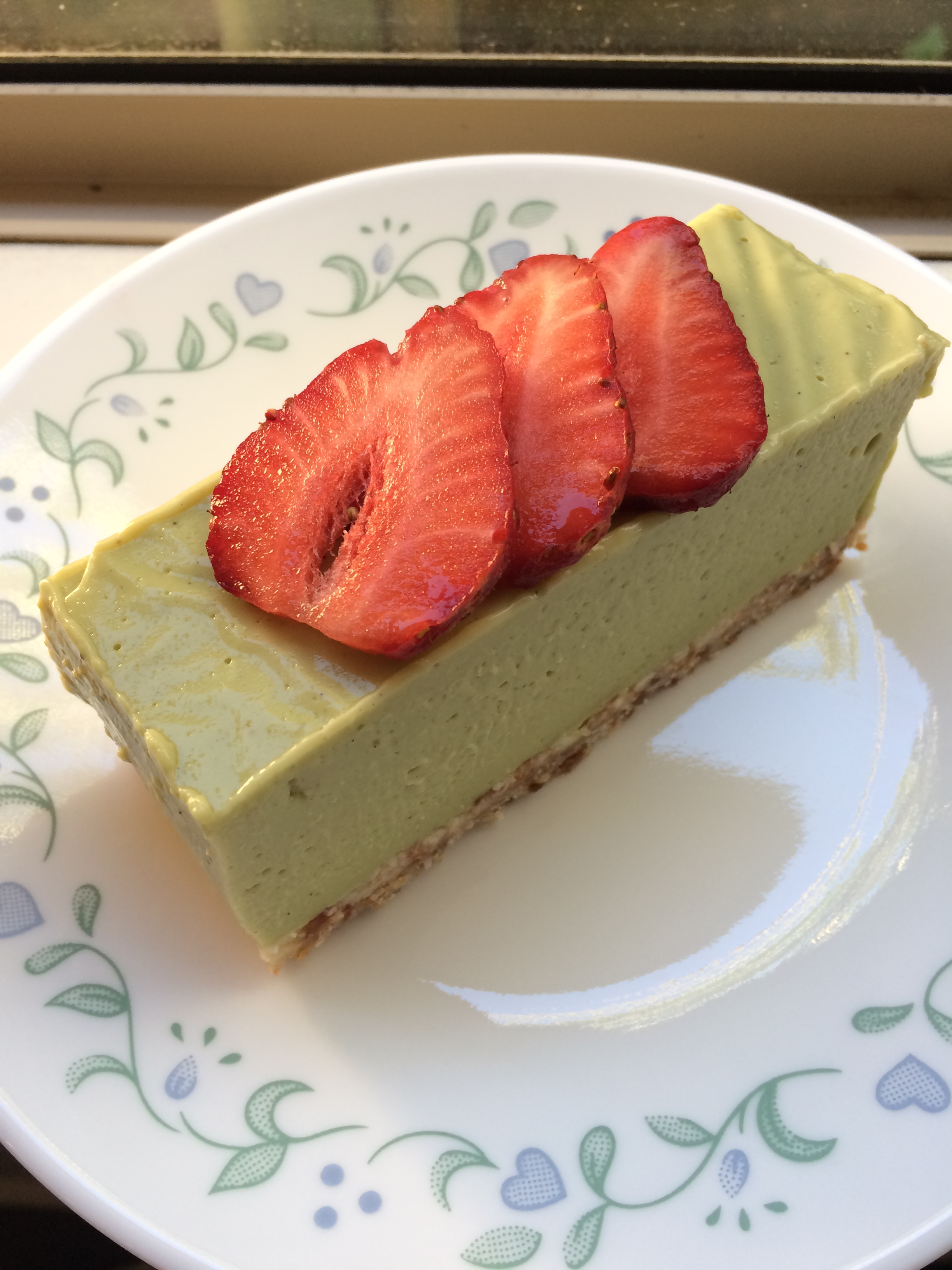 Lime Coconut Cheesecake -