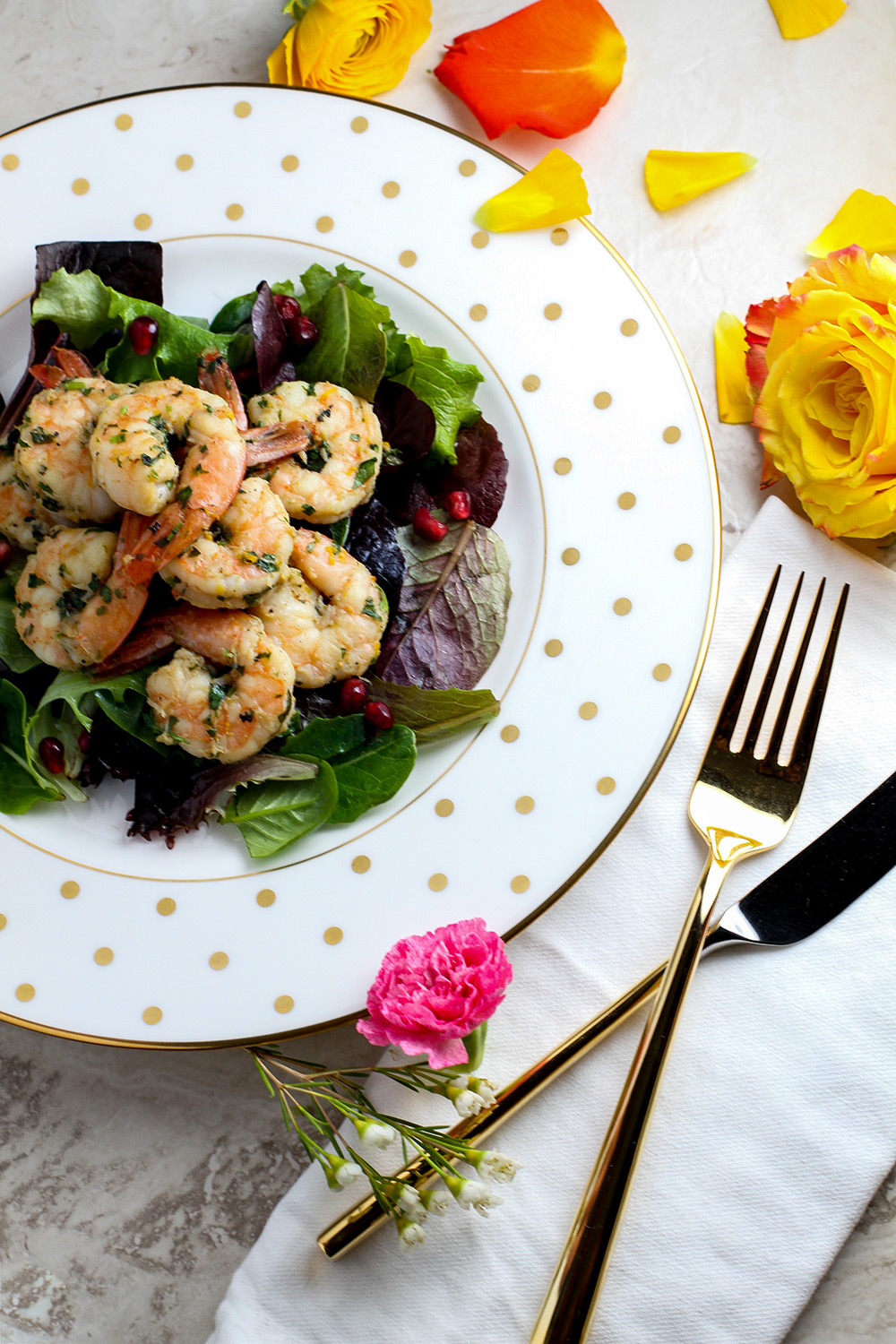 Citrus Herb Shrimp