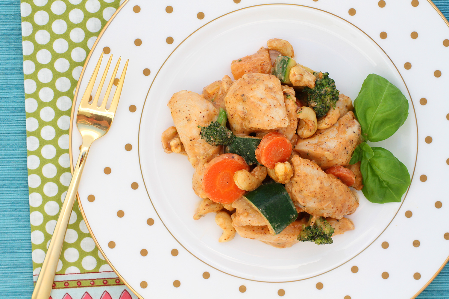 Chicken Stir Fry with Cashews