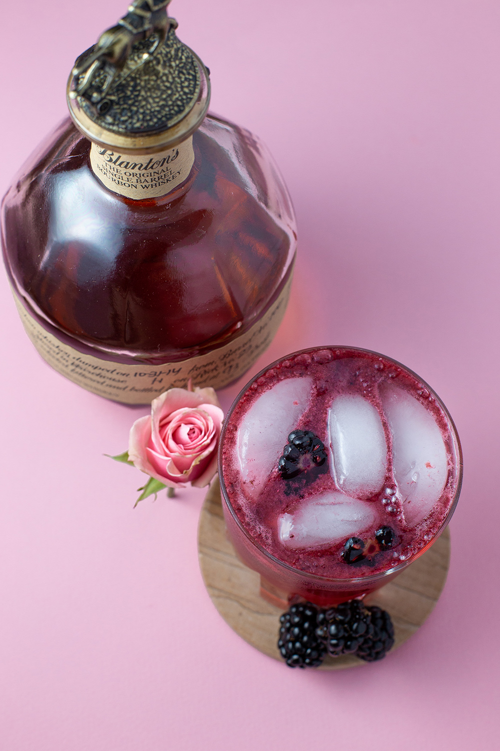 Blackberry Whiskey Bourbon Smash