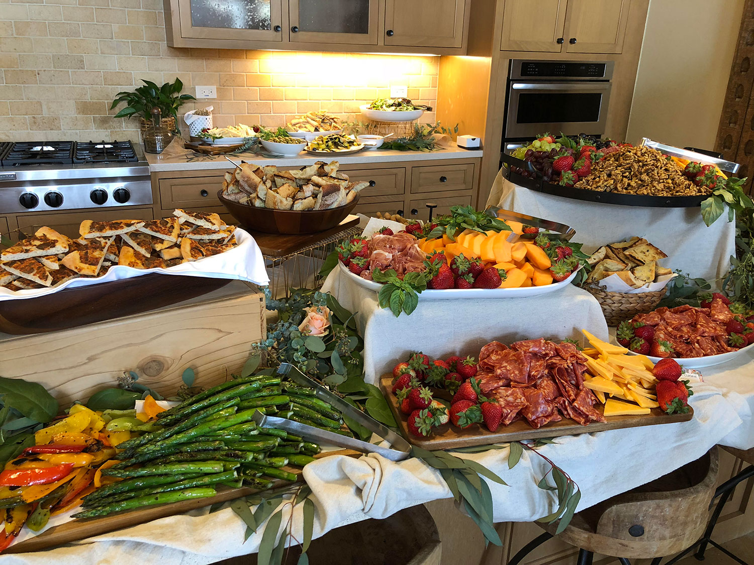 Wedding Catering Buffet
