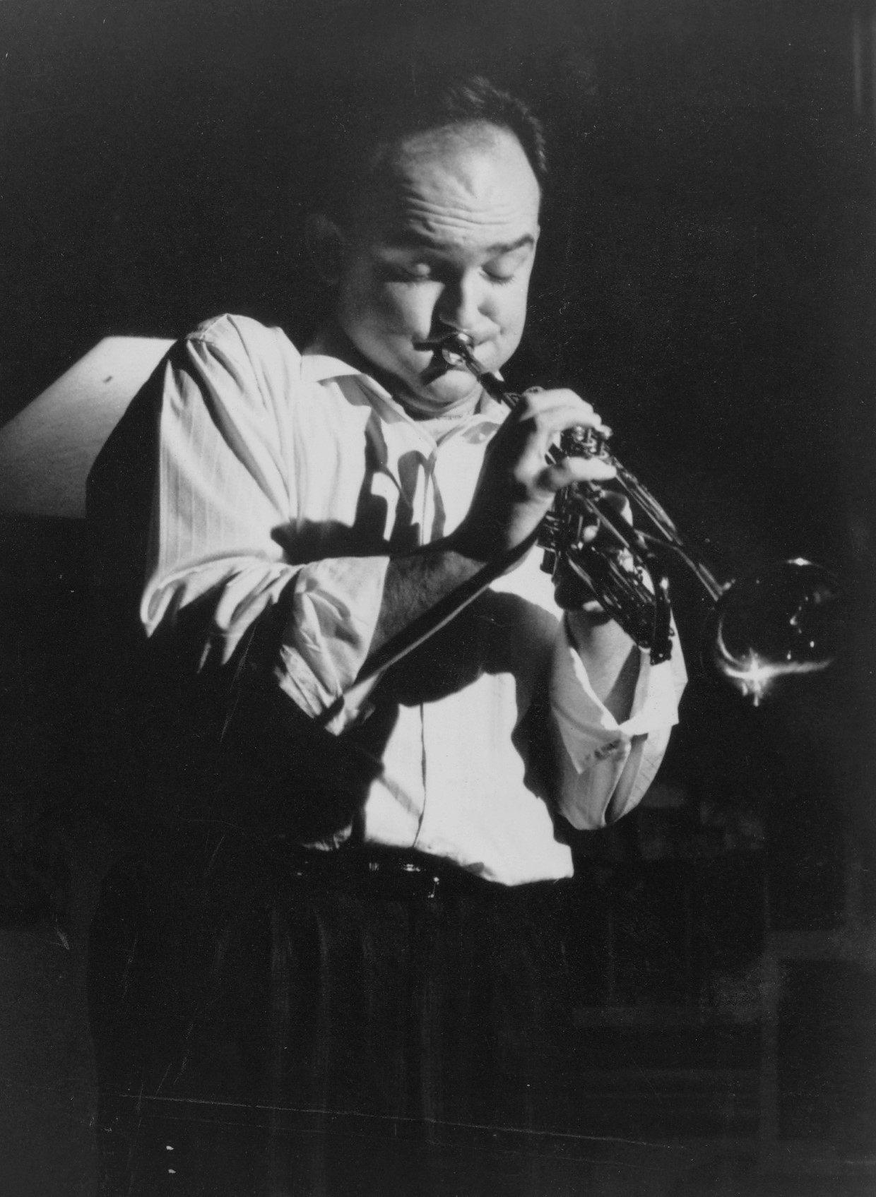James Morrison  Photo courtesy Australian Jazz Museum