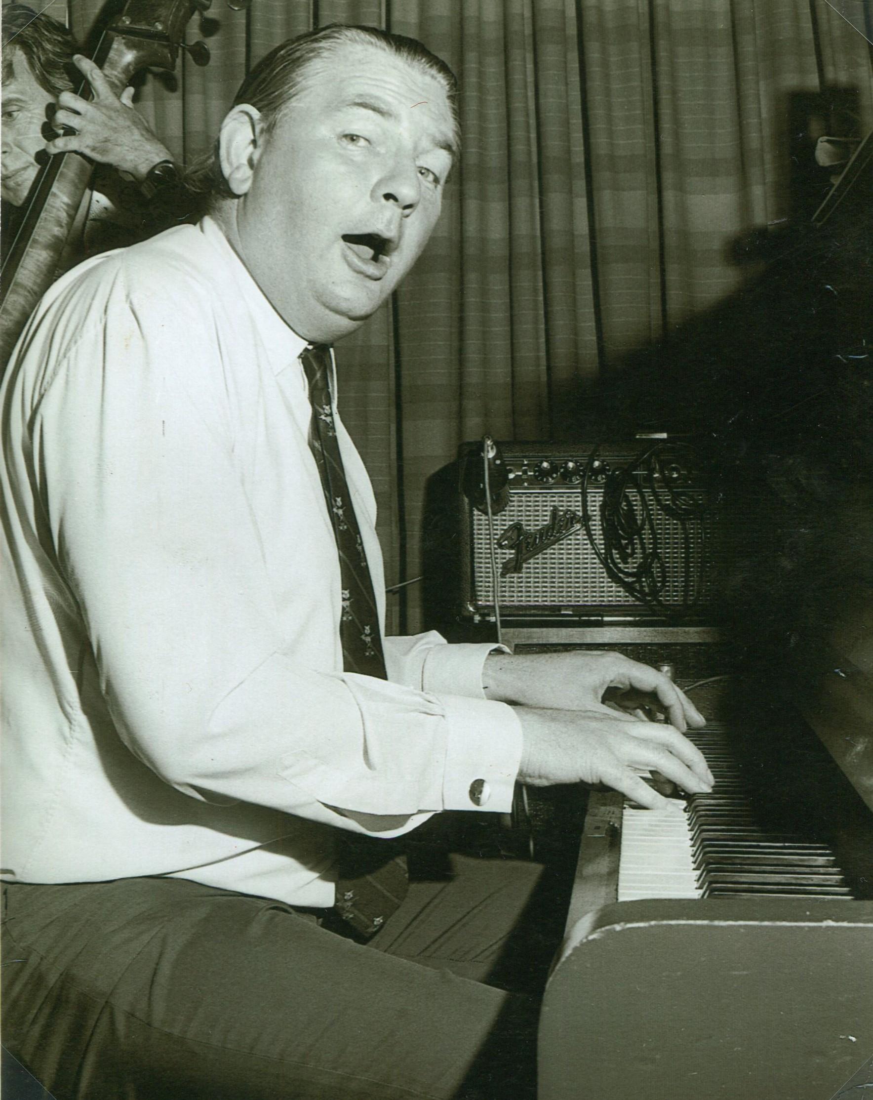 Dick Hughes  Photo courtesy Australian Jazz Museum