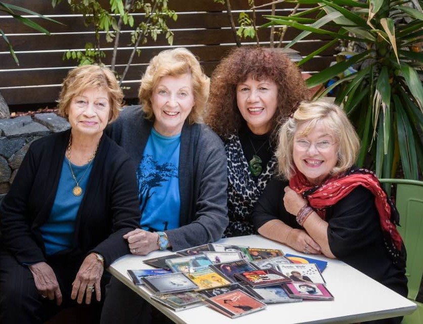 Marie Wilson, Sandie White, Joy Yates, Susan Gai Dowling