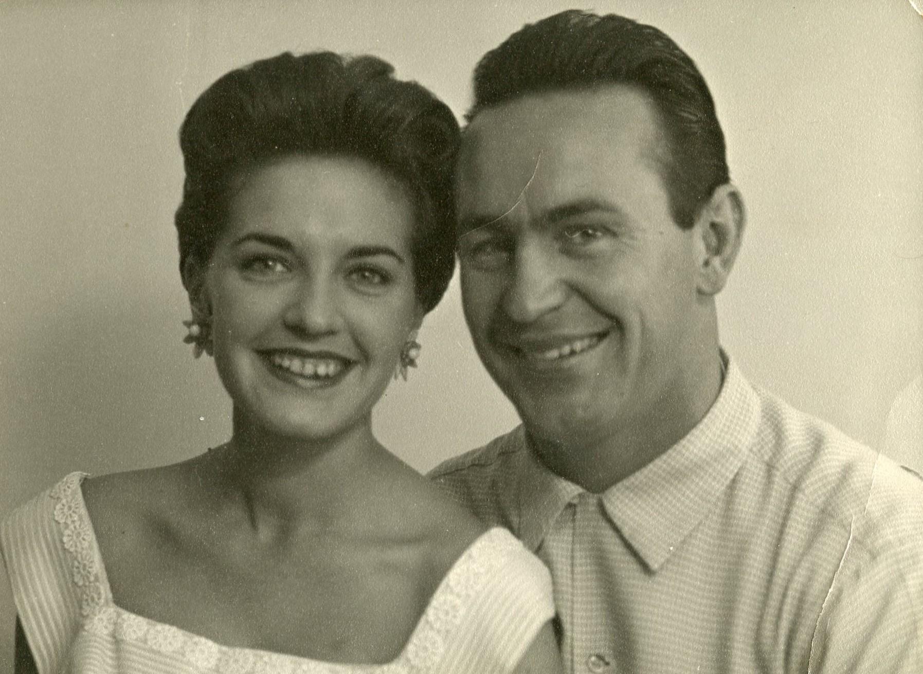Gill & Ron Falson 1958