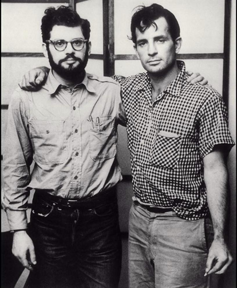 Allen Ginsberg & Jack Kerouac