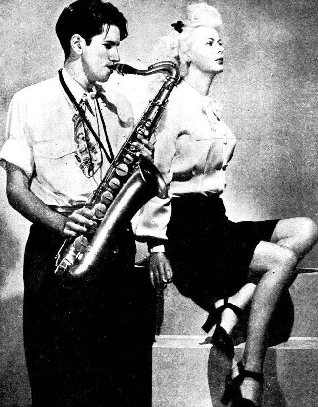 Merv Acheson & Joan Harrison 1946