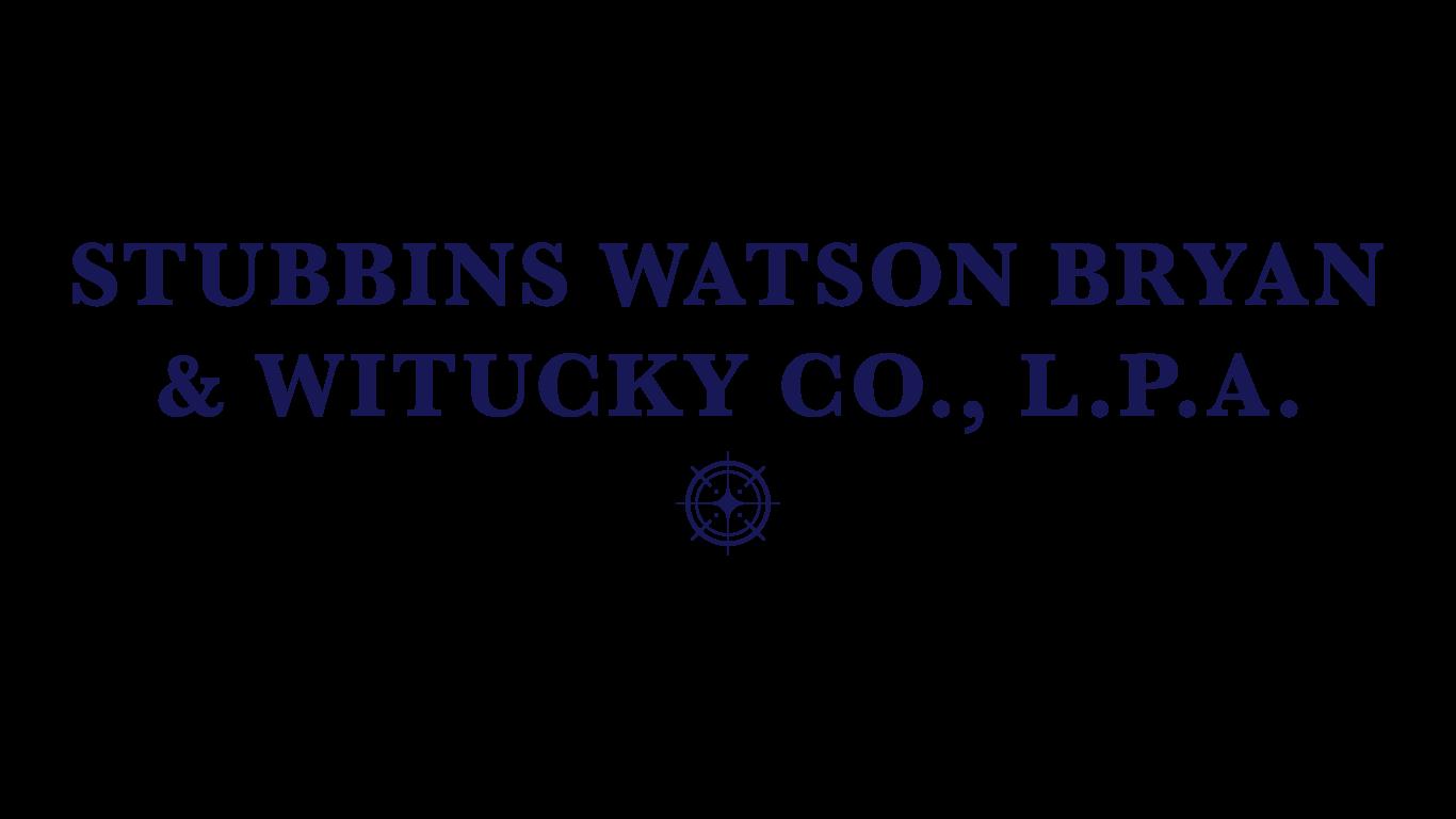 Stubbins, Watson, Bryan & Witucky CO.png