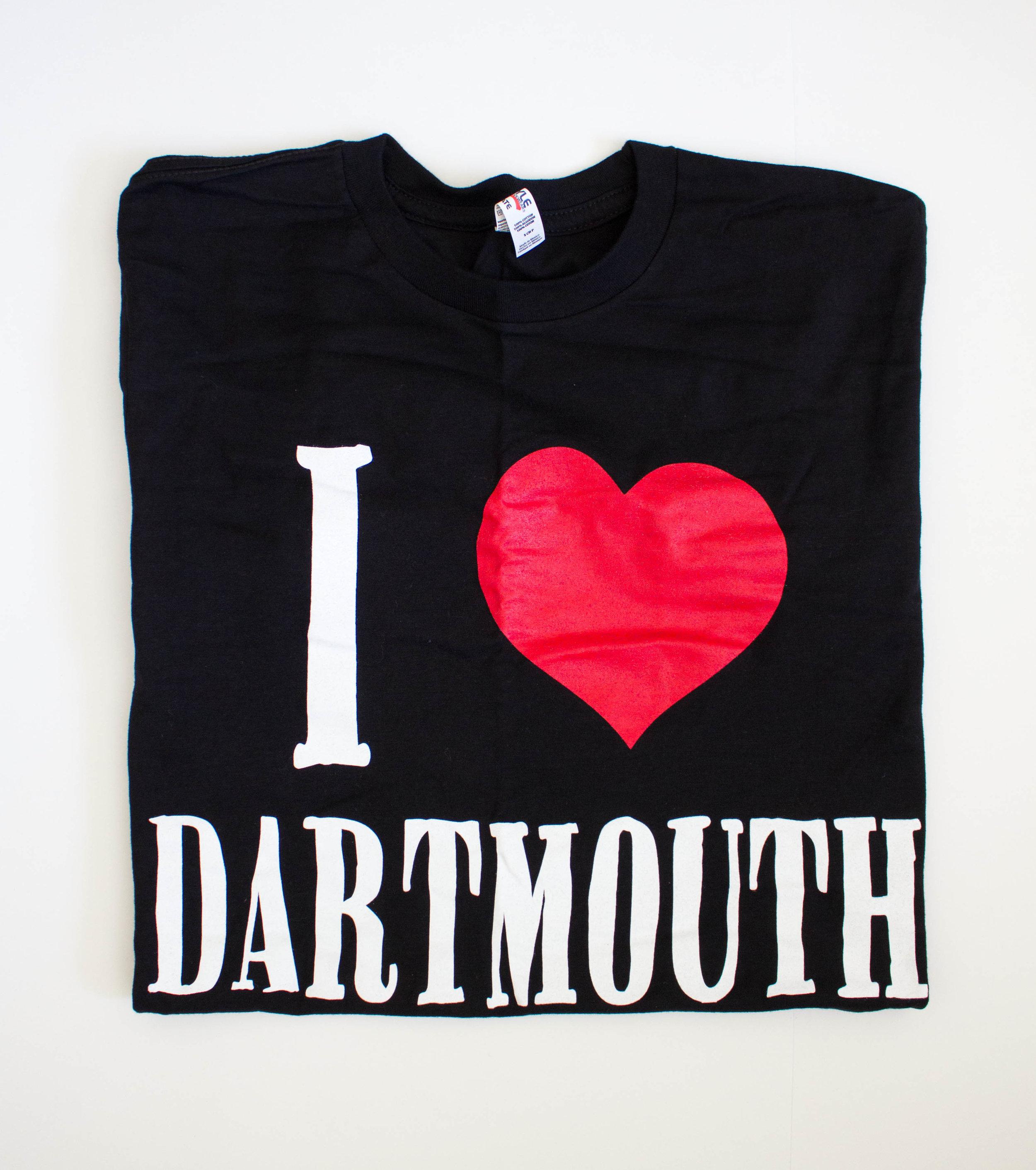 I HEART DARTMOUTH t's $20