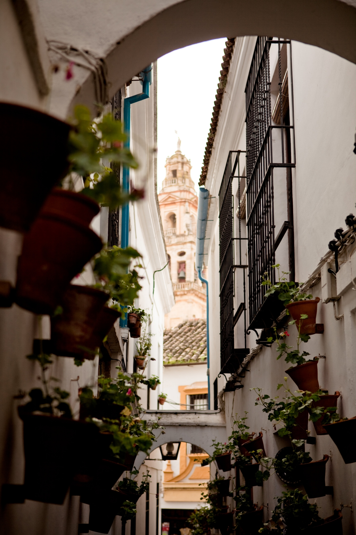 Another view of the Bell Tower from the Judería