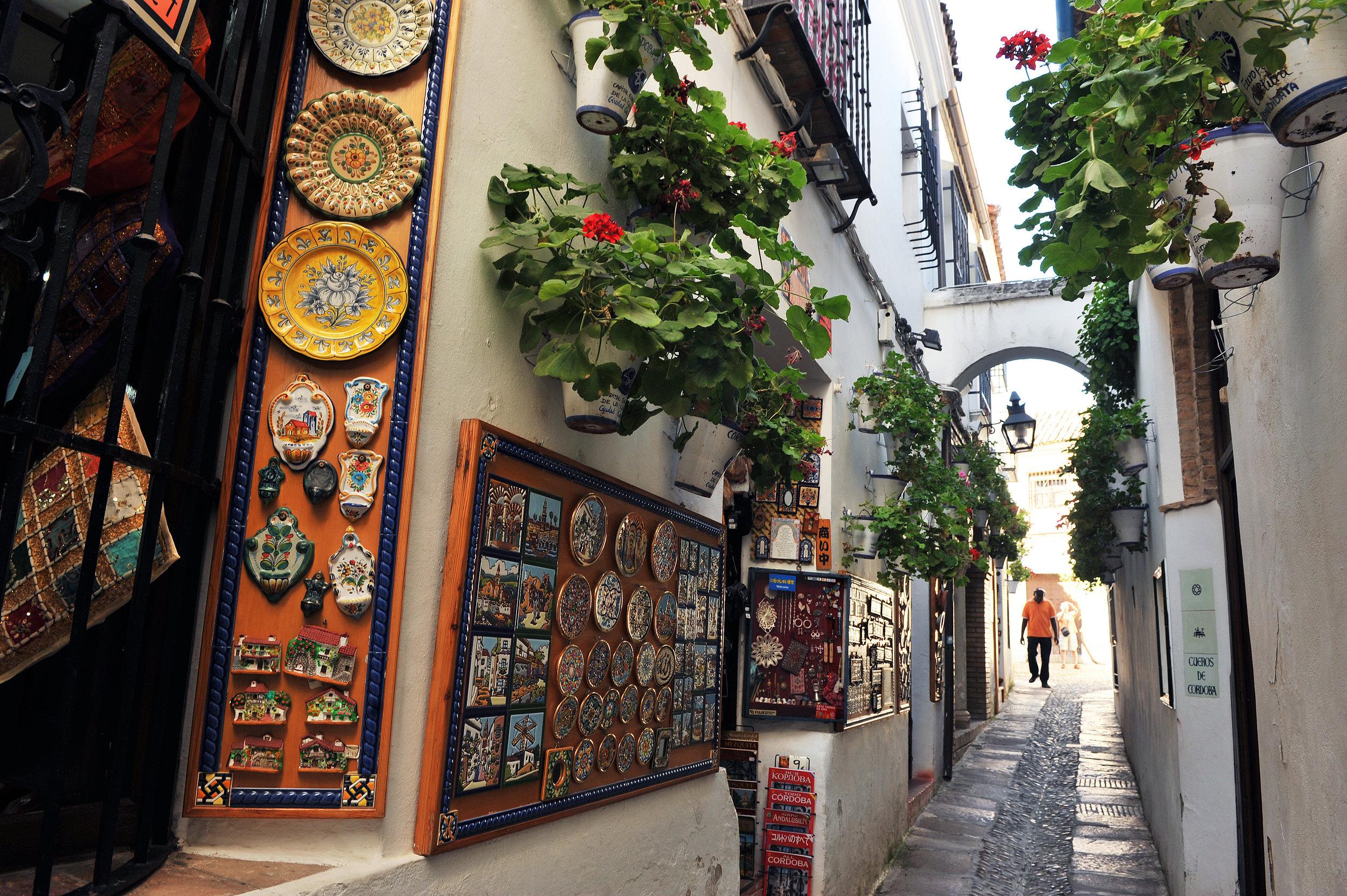Streets scenes from the Judería