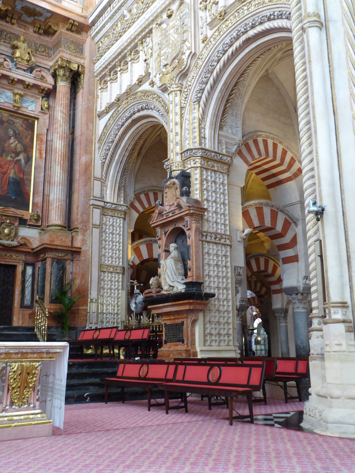 Contrast of the Moorish and Christian influences