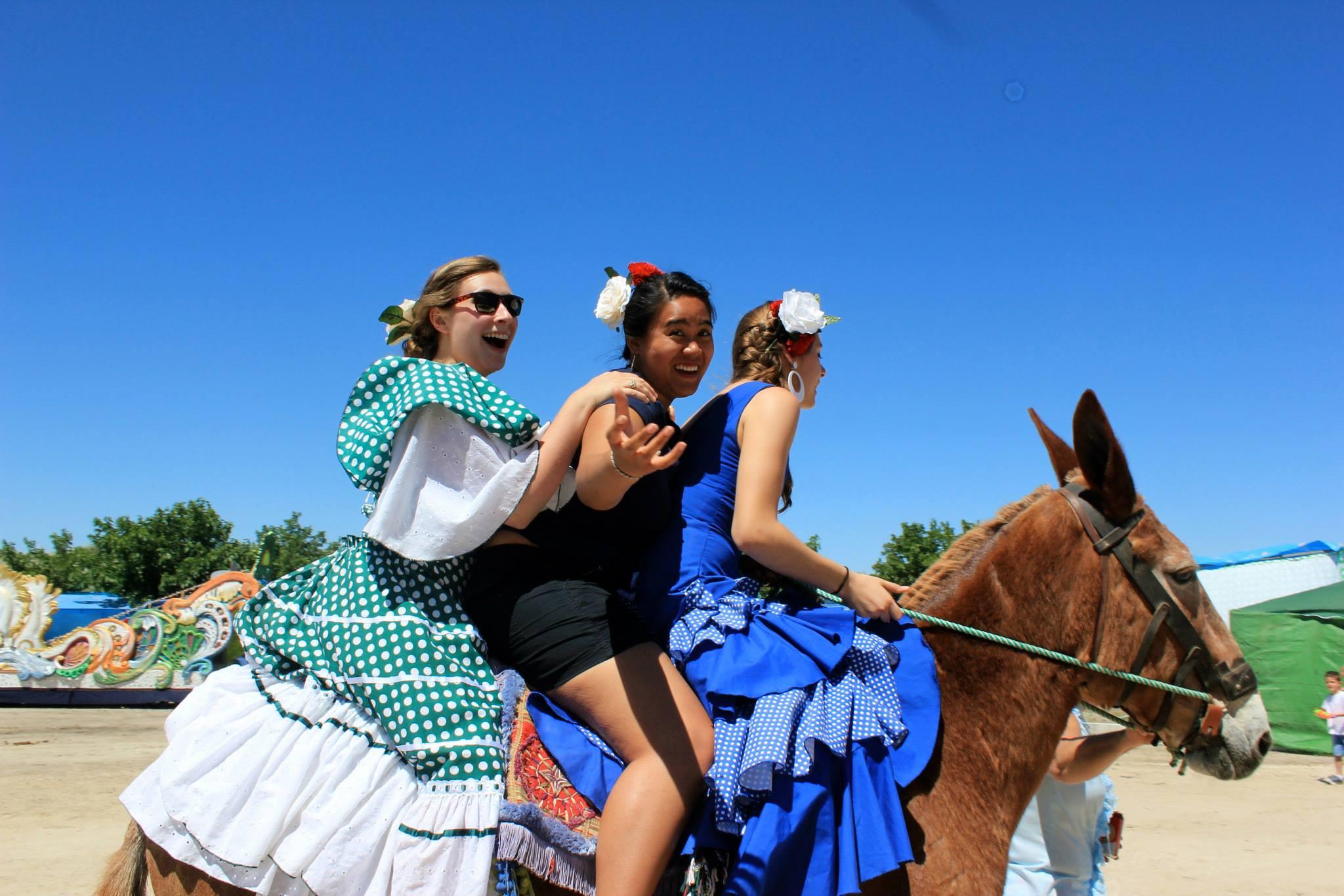 Girls on donkey.jpg