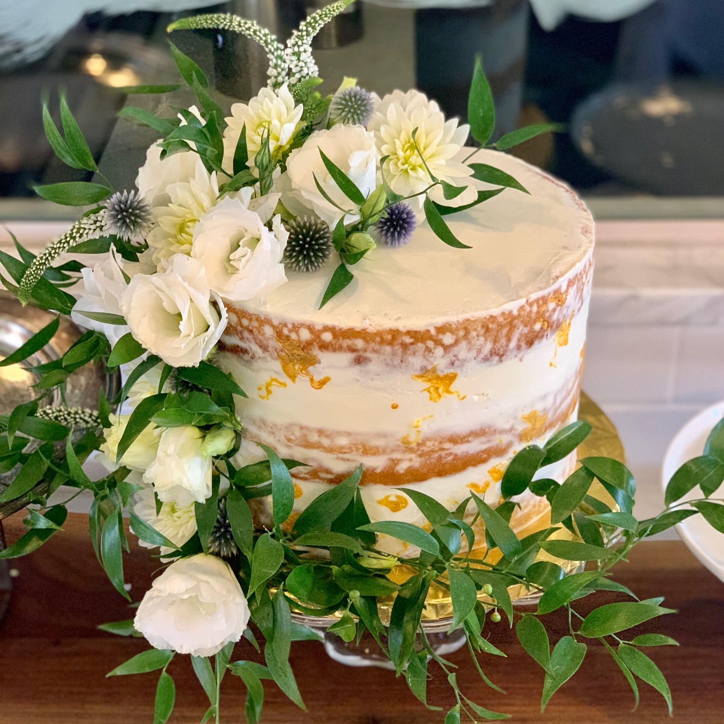 Cake:  Bent Fork Bakery