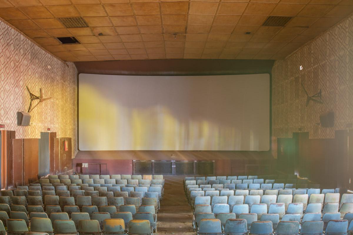 Kokila theatre, Pandavpura in it's twilight.