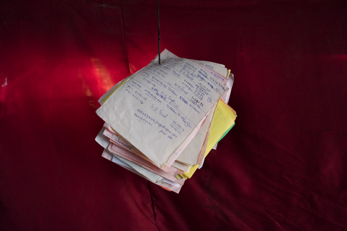 Projectionist's notes