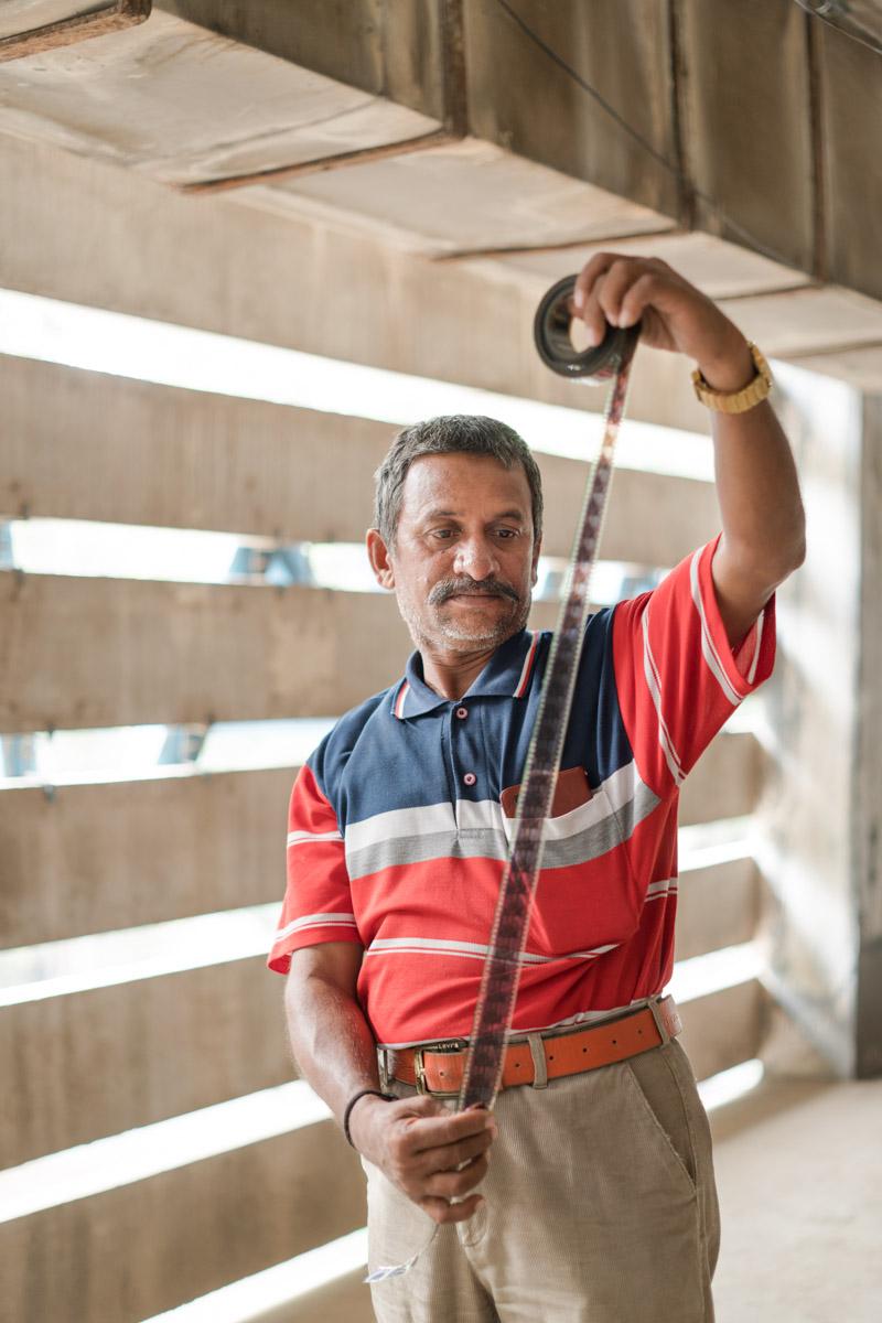 Shahul Hameed K - Employee at Lavanya theatre.