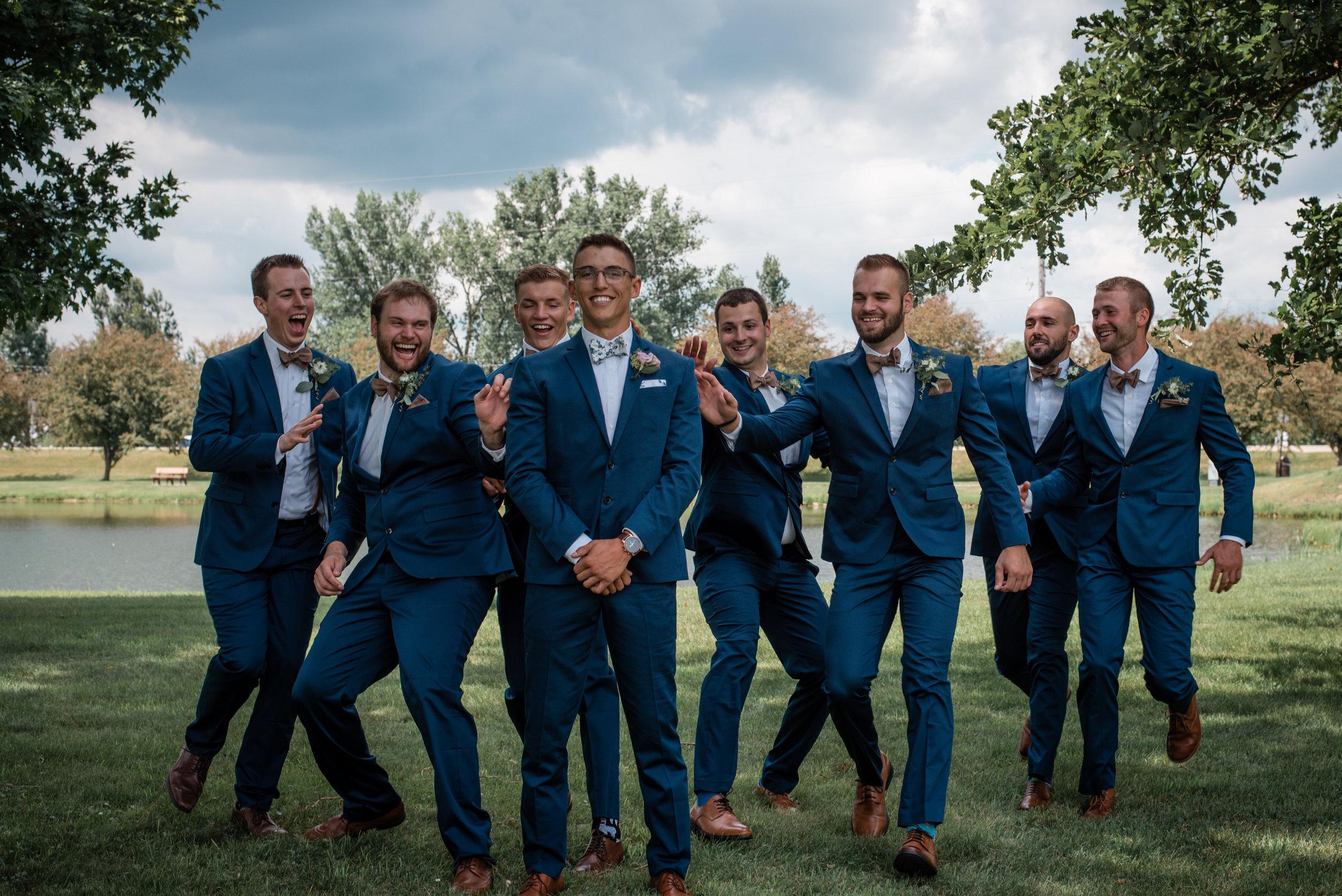 Romantic wedding in Madison wisconsin