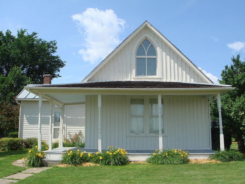 American Gothic House in Eldon, Iowa