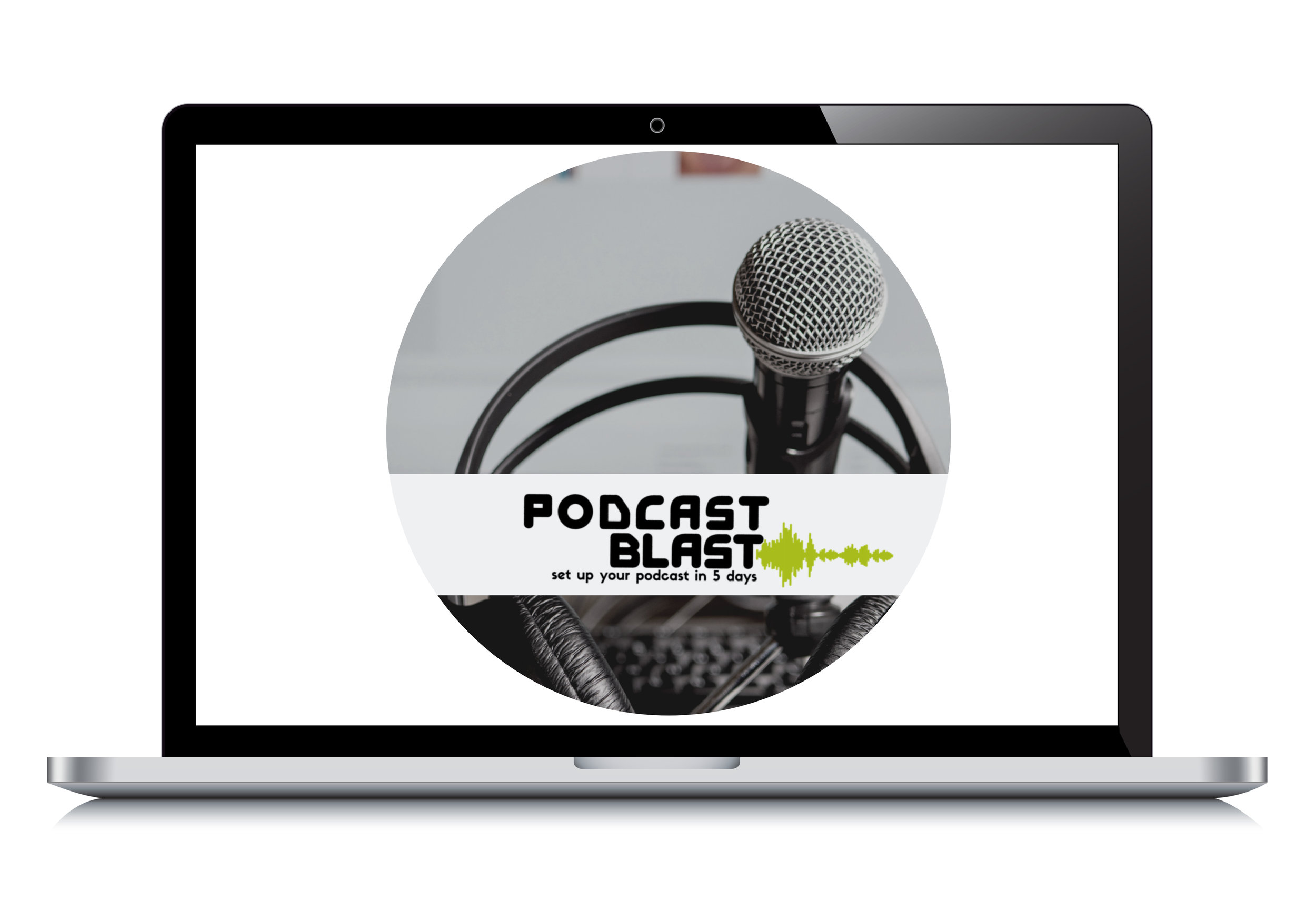 Each day of the challenge you'll be presented with essential knowledge on one key aspect of launching your own podcast with clear, actionable steps. - Through a total of five (5) video tutorials, you'll absorb the material and can ask questions through the messaging function inside of the mini course.