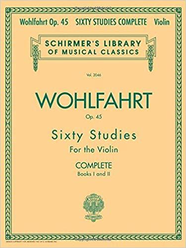 Wohlfahrt - 60 Studies, Op. 45 Complete