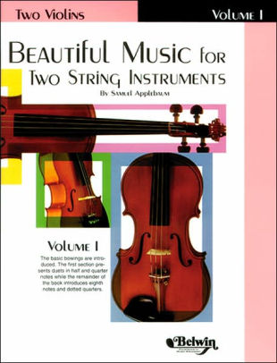Beautiful Music for Two Violin, Bk 1
