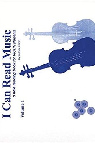 I Can Read Music, Vol 1: Violin