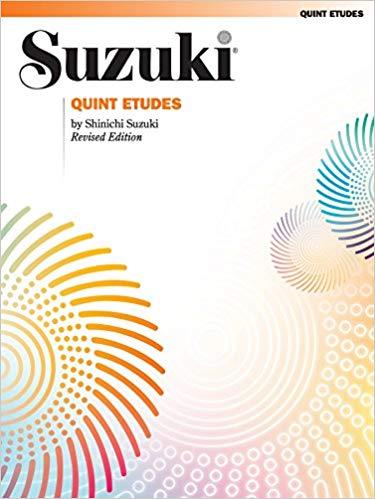 Quint Etudes: Violin (Suzuki Violin School)