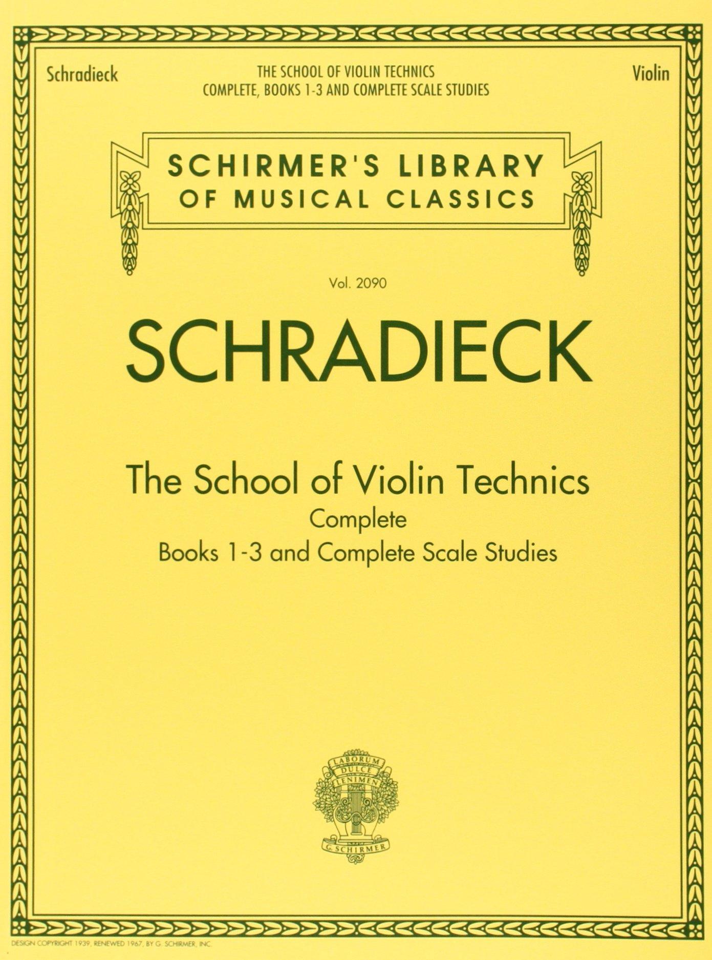 School For Violin Technics: Complete