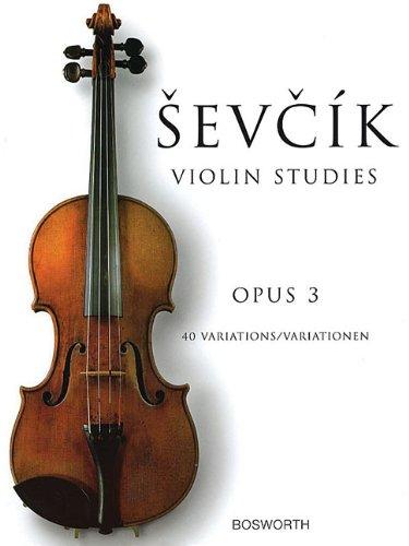 Sevcik - 40 Variations Op. 3