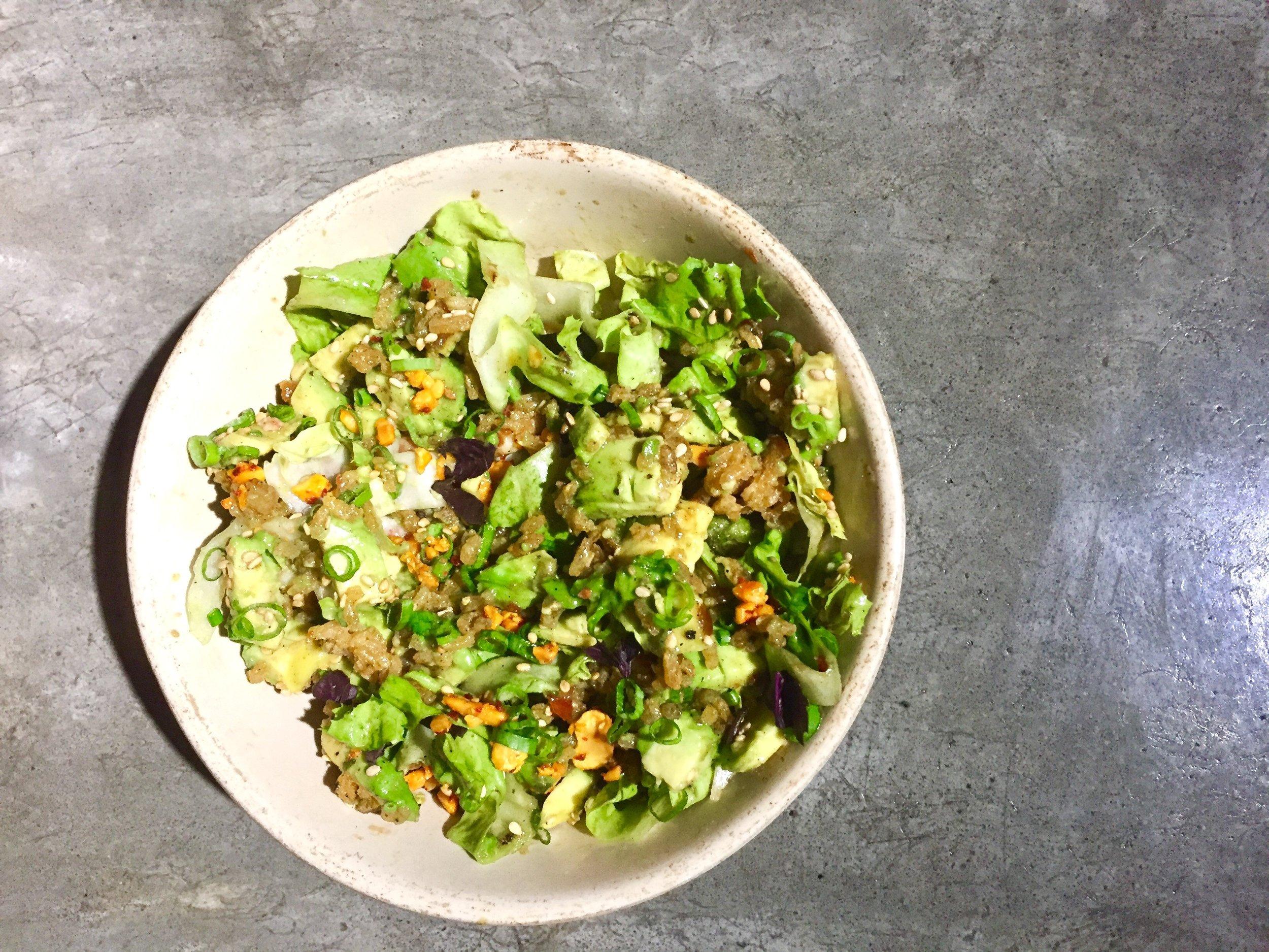 Avocado Crispy Rice