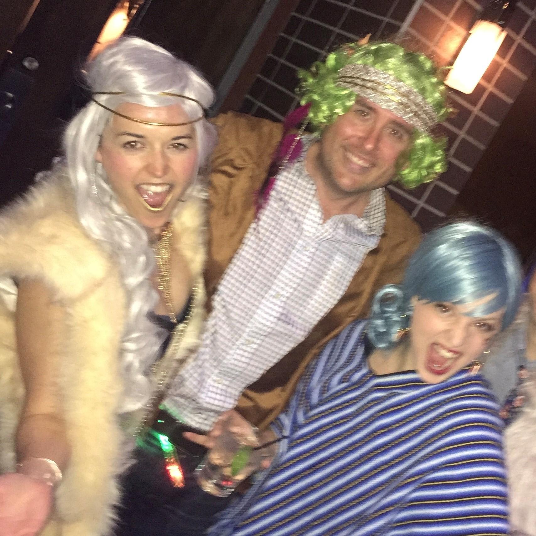 Bachelorette Party with Damaris, circa 2016.