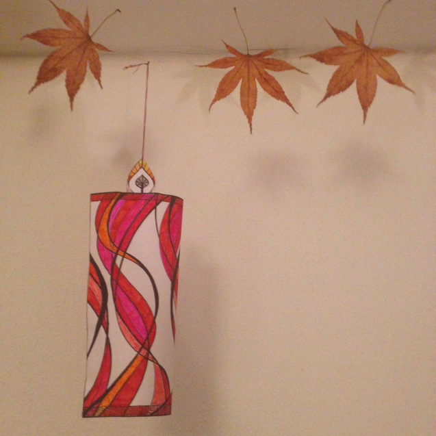 Mindful Colouring-In: Christmas Candle Decoration final wendy ann greenhalgh