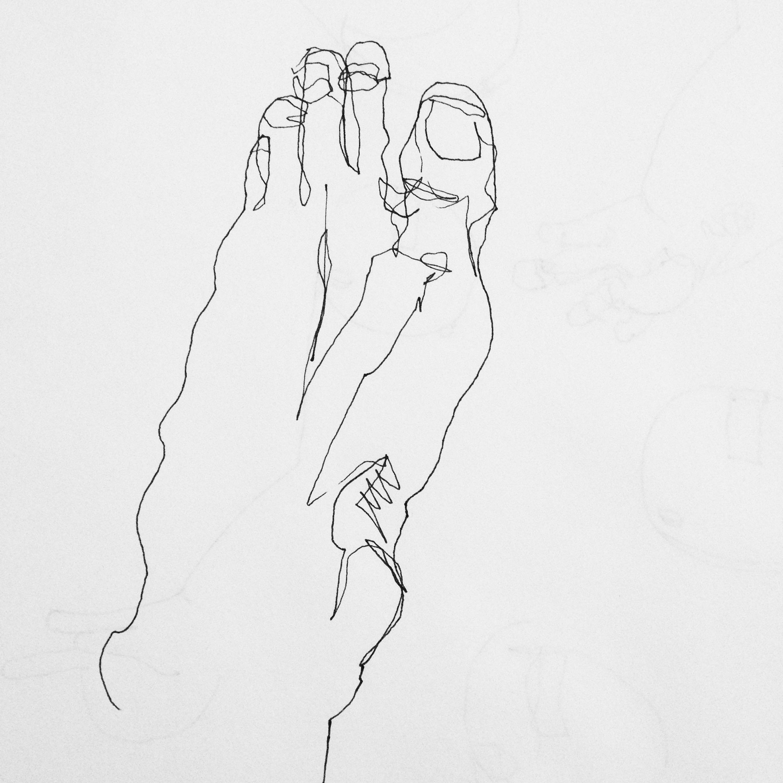 Wendy Ann Greenhalgh Blind Contour Drawing.jpg