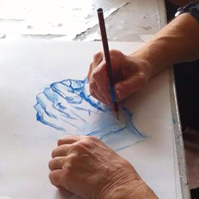 mindful drawing self compassion