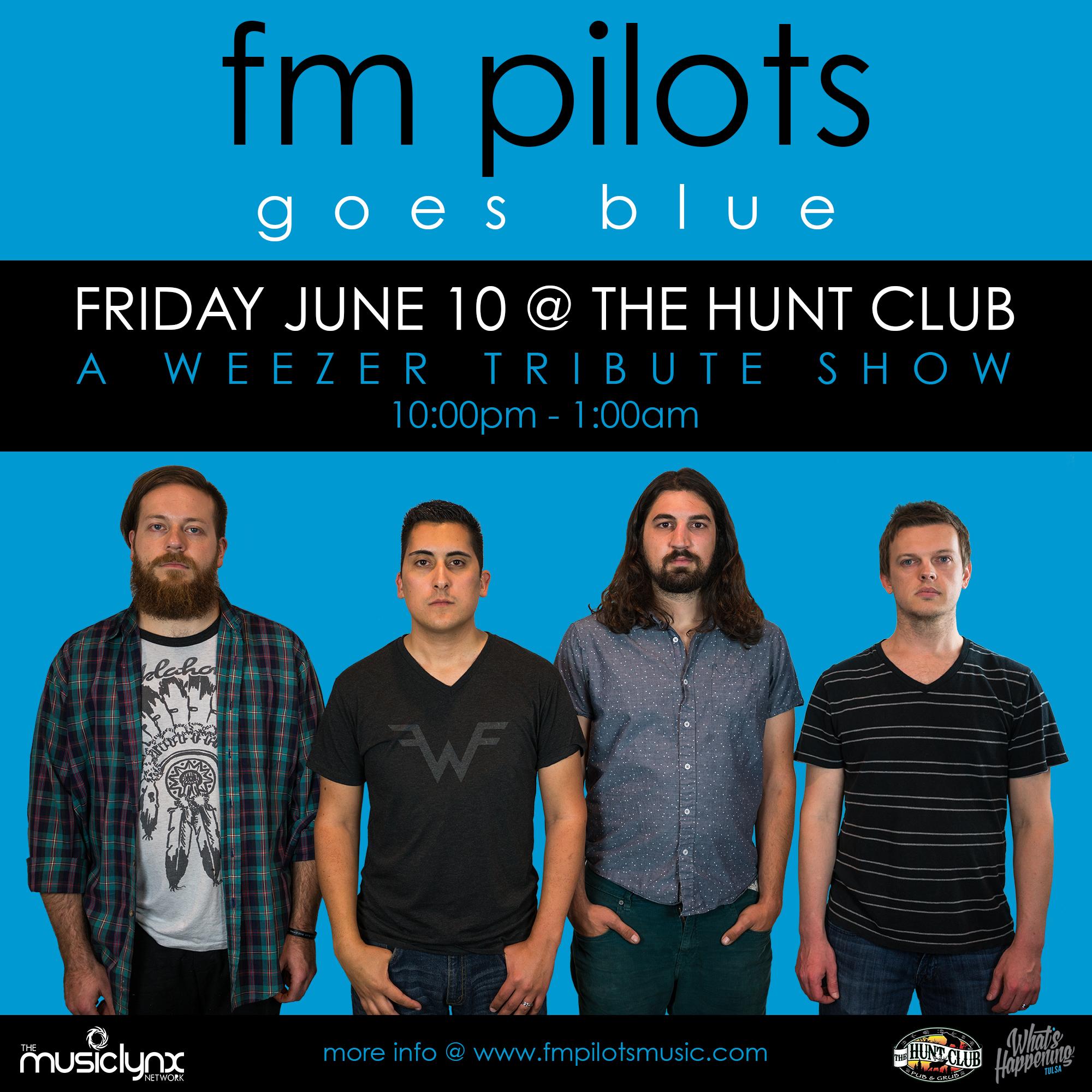 FM Pilots Weezer Tribute - Tulsa Rock Band - The Hunt Club Tulsa, OK 061016.jpg