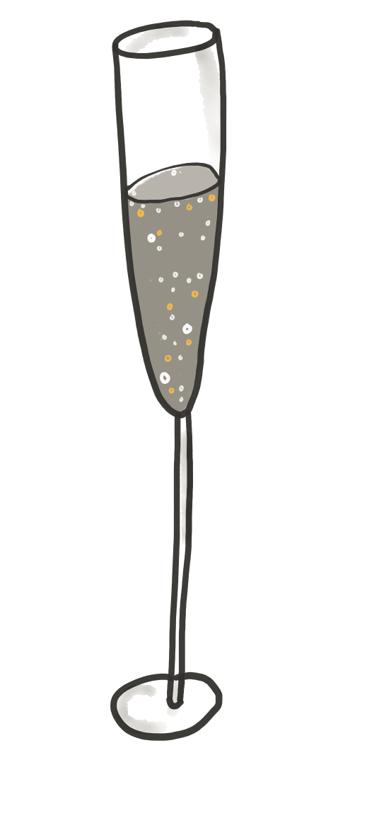 Bottomless brunch prosecco -