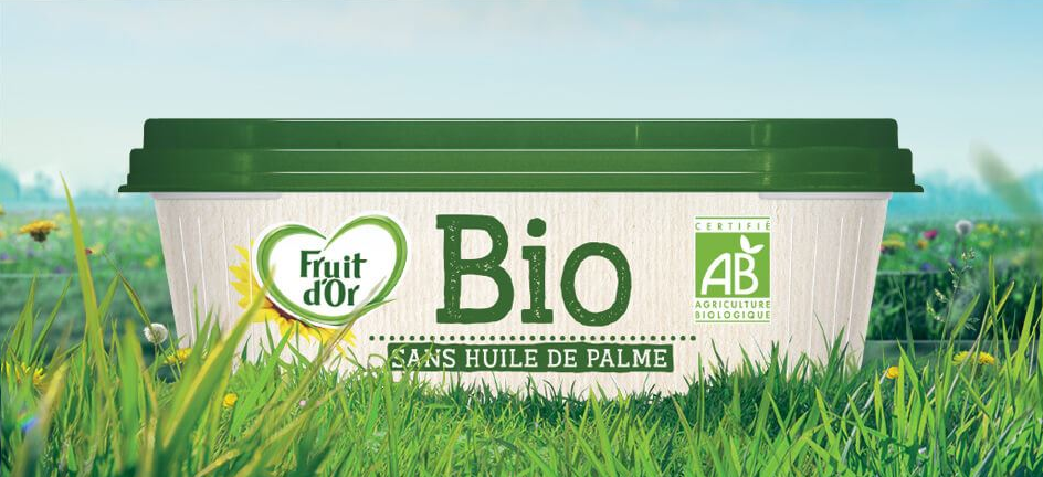 Fruit D'Or margarine containing Allanblackia oil sold in France