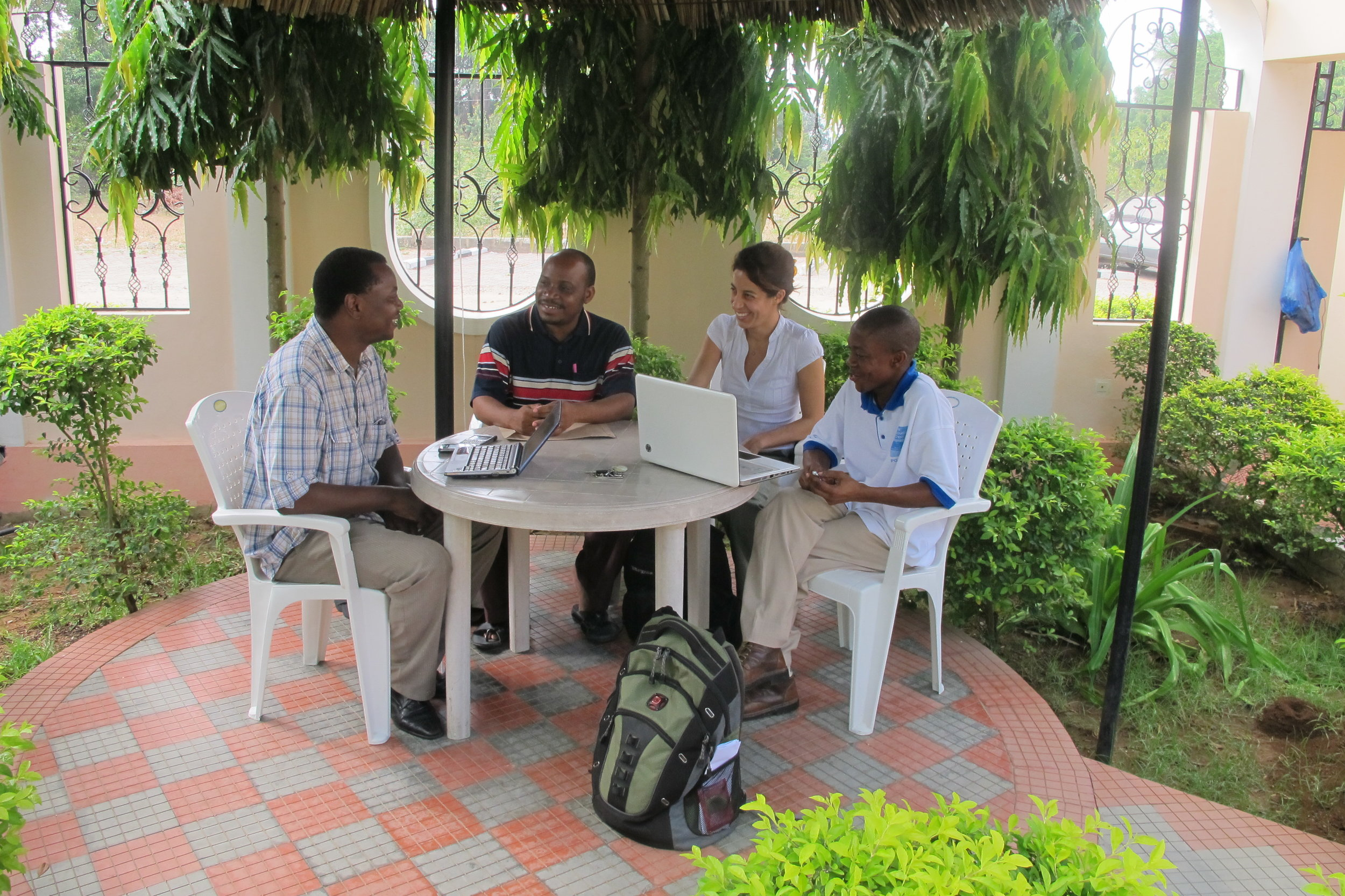 Novel Development Tanzania Ltd in a meeting with UEBT