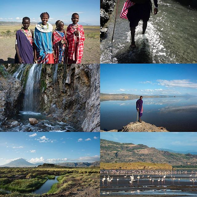 A soda lake at the base of the active Ol Donyo Lengai volcano, the area around Lake Natron is often described as having a desolate and almost lunar beauty. #lakenatron #tanzania #sodalake #maasai #oldonyalengai #tanzaniadiscoverytours 📷@diannasnape