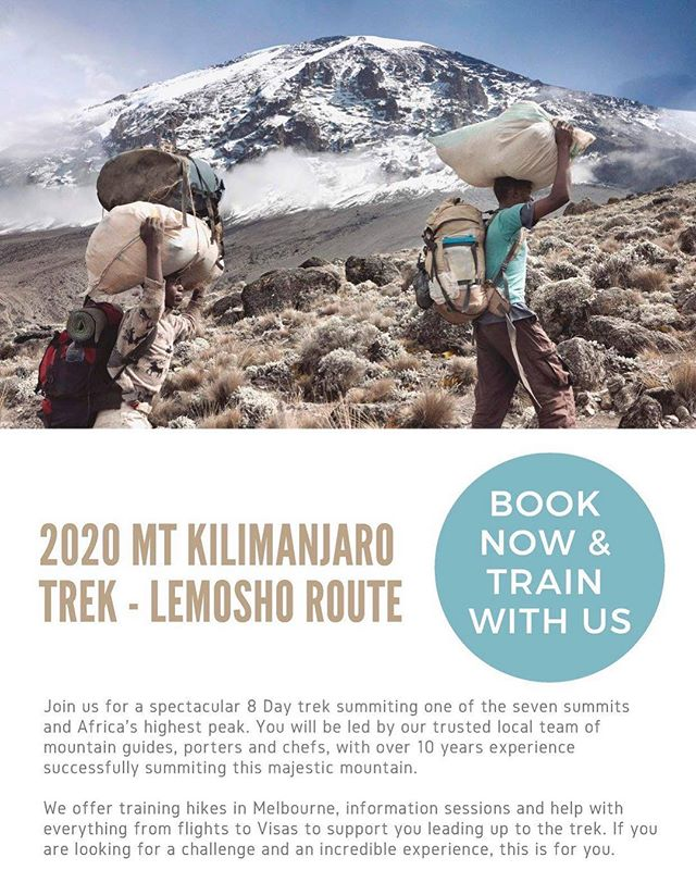 Our 2020 Mt Kilimanjaro group trek is open. Join us for the trek of a lifetime summiting Africa's highest peak. Training support available leading up to the trek. Full details at www.tanzaniadiscoverytours.com #mtkilimanjaro #mtkilimanjaroclimb #kilimanjaro #hikingadventure #tanzanianadventure #africashighestpeak #mountkilimanjaro #sevensummits #hikingtanzania #hikingafrica