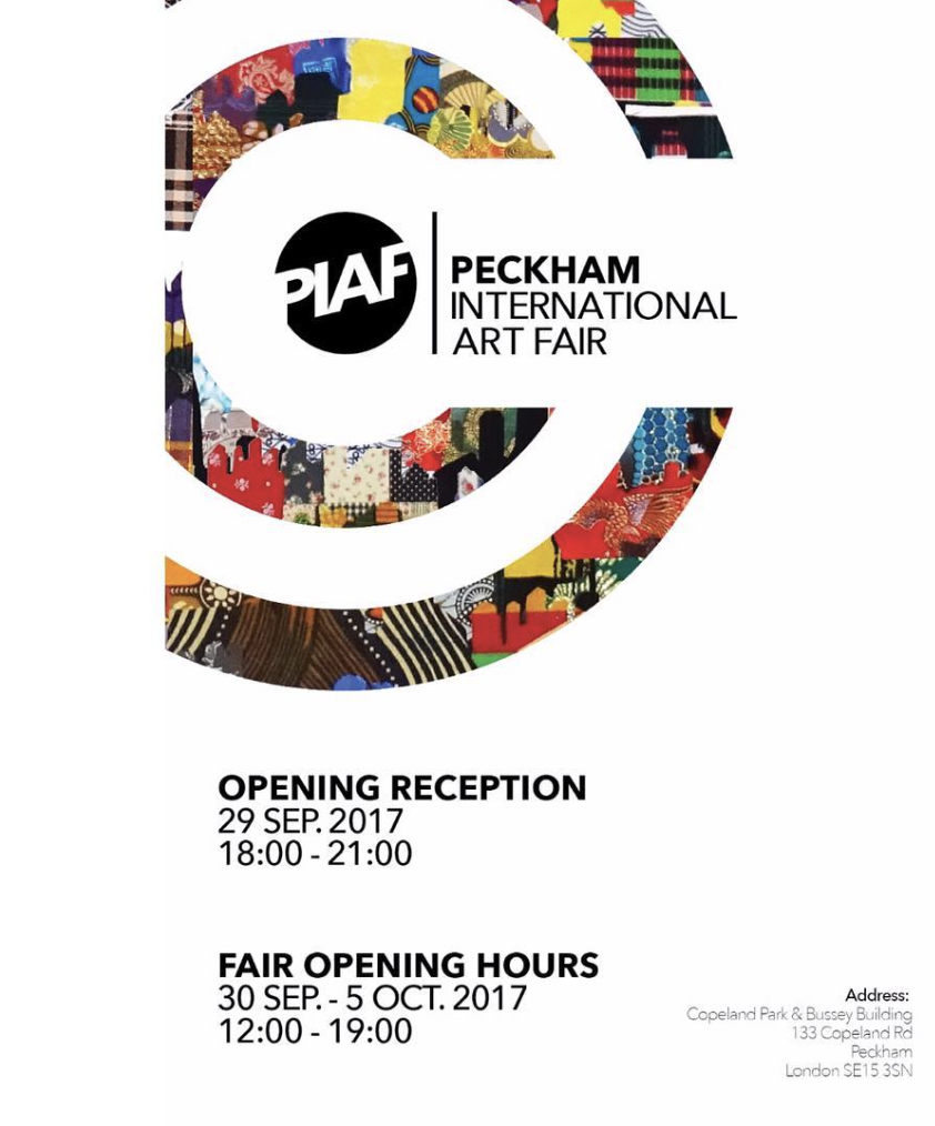 PIAF International Art Fair - My painting 'A Tale of Two Cities' is being exhibited at Peckham International Art Fair, 133 Copeland Street, London. Opening night 29th September 6-9pm, please join me. Exhibition runs until 5th October.