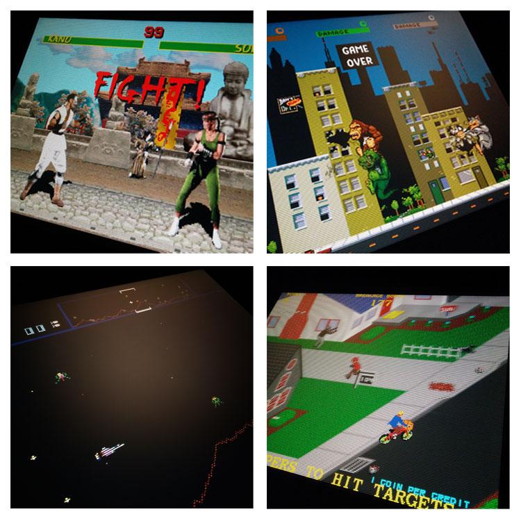 Midway arcade games